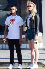 SOPHIE TURNER and Joe Jonas Out in Venice Beach 06/11/2017