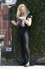 SOPHIE TURNER Out and About in West Hollywood 06/14/2017