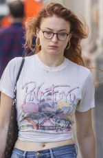 SOPHIE TURNER Out for Lunch in Montreal 06/22/2017