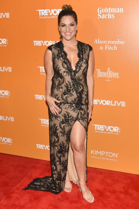 SOSHANA BEAN at Trevorlive Fundraiser in New York 06/19/2017