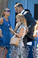 STACEY HANNANT at Jem Paul Karacan's Wedding in Italy 06/10/2017