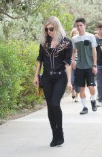 STACY FERGIE FERGUSON Heading to a Church in Los Angeles 06/11/2017