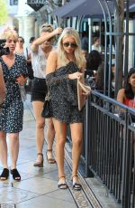 STASSI SCHROEDER Shopping at The Grove in Hollywood 06/17/2017