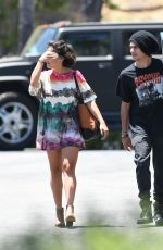 STELLA HUDGENS Out Shopping at Bed Bath & Beyond in Los Angeles 06/25/2017