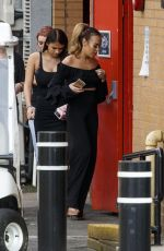 STEPHANIE DAVIS at Elstree Studios in Hertfordshire 06/15/2017