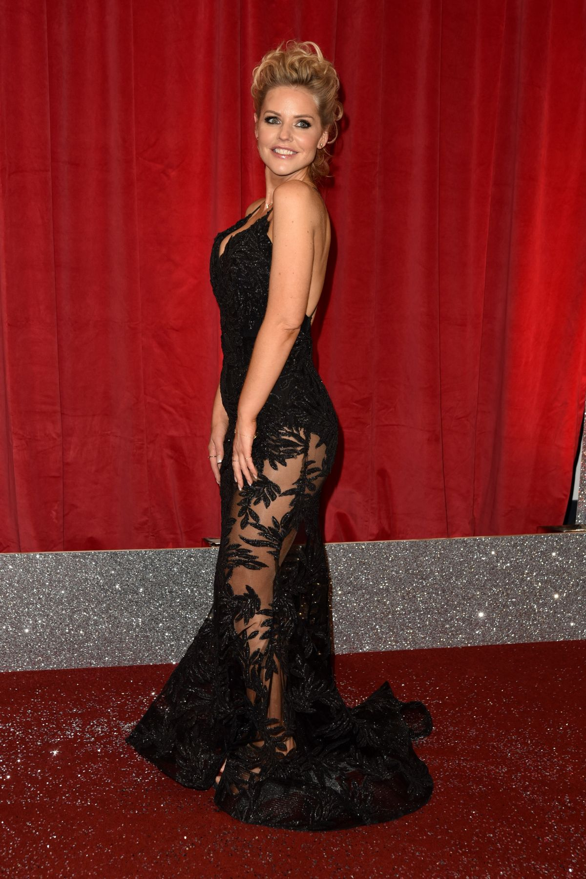 STEPHANIE WARING at British Soap Awards in Manchester 06/03/2017