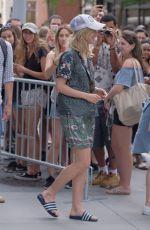 SUKI WATERHOUSE Arrives at AOL Studios in New York 06/21/2017