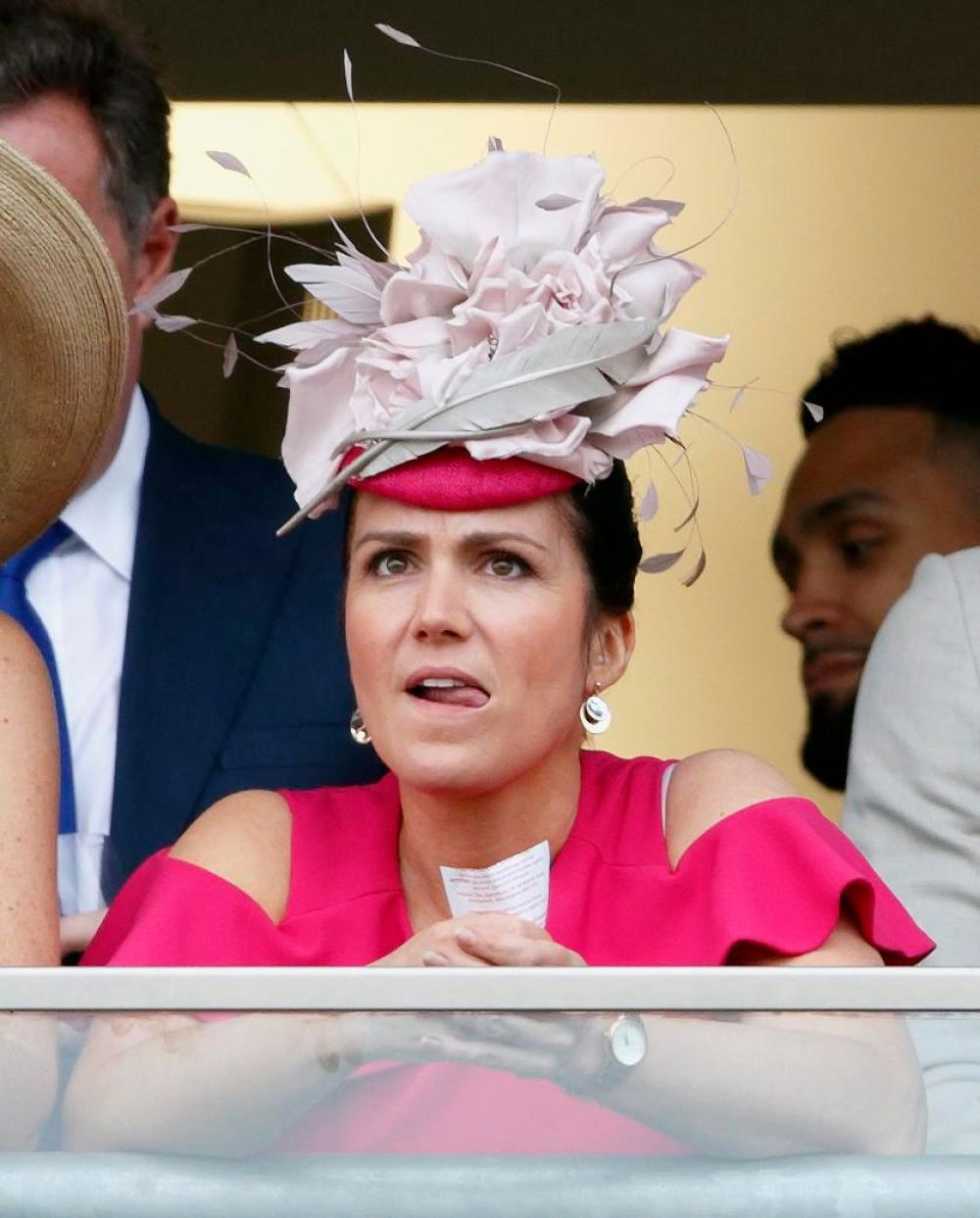 SUSANNA REID at Ascot Racecourse in Berkshire 06/22/2017
