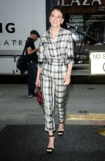 SUTTON FOSTER Arrives at Today Show in New York 06/27/2017