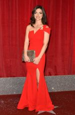 SYDNEY CRAVEN SCARLETT ARCHER at British Soap Awards in Manchester 06/03/2017