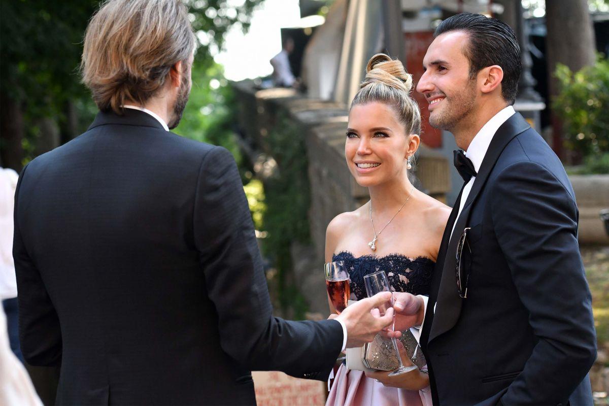 Sylvie Meis At Victoria Swarovski Wedding In Trieste 06 16 2017