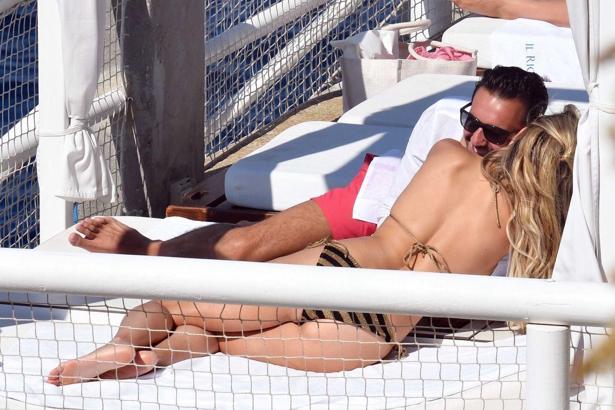 SYLVIE MEIS in Bikini on Vacation in Capri 06/21/2017