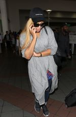 TAMAR BRAXTON at Los Angeles International Airport 06/06/2017