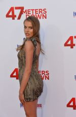 TANYA MITYUSHINA at 47 Meters Down Premiere in Los Angeles 06/12/2017
