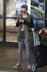 TARYN MANNING at Los Angeles International Airport 06/26/2017