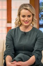 TAYLOR SCHILLING at Good Morning Britain Show in London 06/01/2017