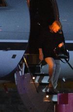 TAYLOR SWIFT Arrives at Luton Private Terminal 06/25/2017