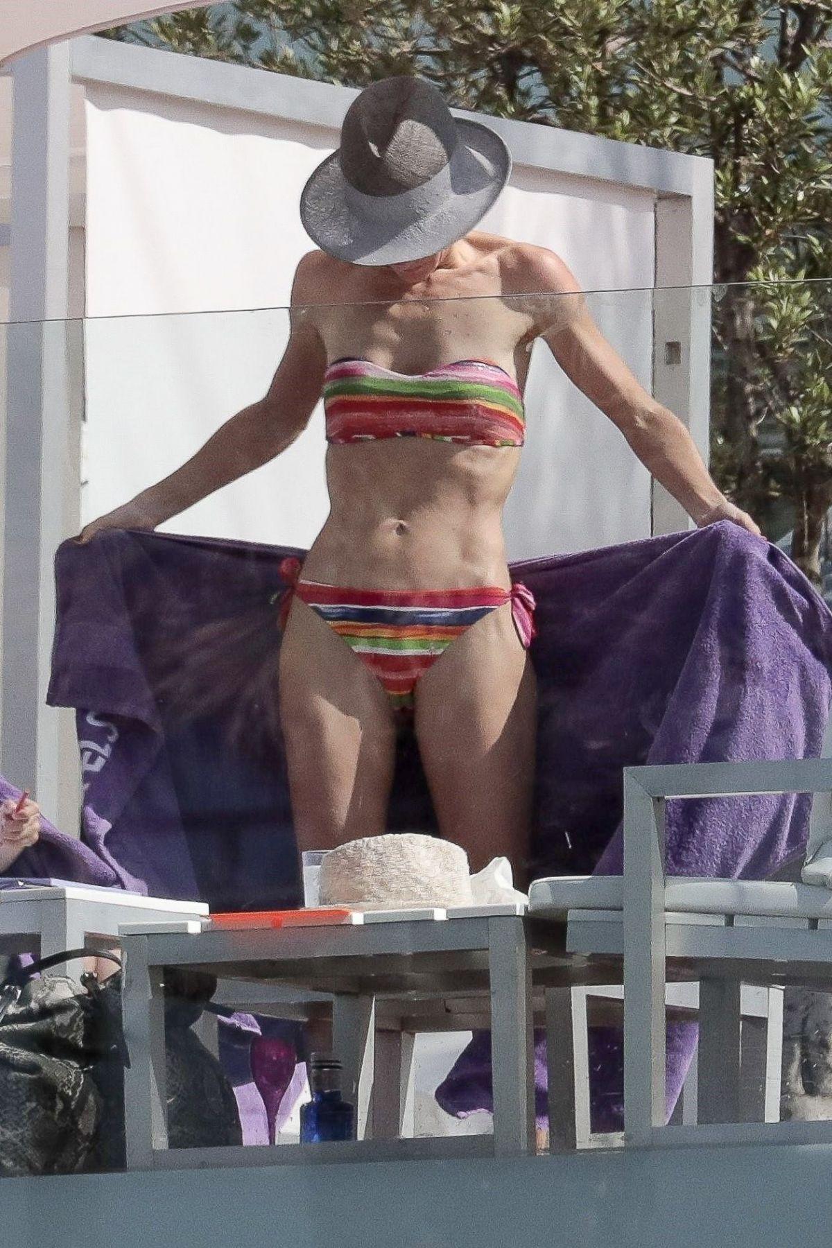 TELMA ORTIZ in Bikini at Pool of Her Hotel in Miami 06/02/2017