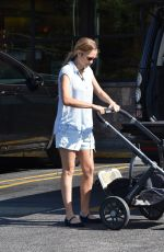 TERESA PALMER Out for Breakfast in Los Angeles 06/17/2017