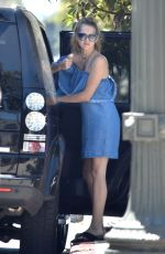 TERESA PALMER Out for Lunch at Cafe Gratitude in Los Angeles 06/15/2017