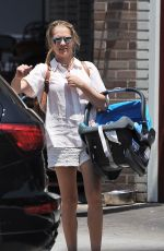 TERESA PALMER Out for Lunch in Los Angeles 06/02/2017