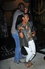 TICHINA ARNOLD at Catch LA in West Hollywood 06/03/2017