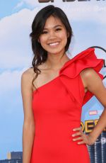 TIFFANY ESPENSEN at Spiderman: Homecoming Premiere in Los Angeles 06/28/2017