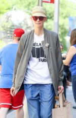 TILDA SWINTON Out and About in New York 06/09/2017