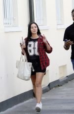 TULISA CONTOSTAVLOS Out and About in London 06/23/2017
