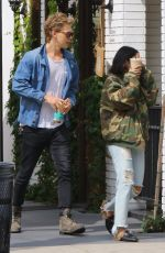 VANESSA HUDGENS and Austin Butler Out in Studio City 05/31/2017