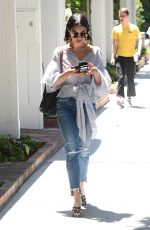 VANESSA HUDGENS Arrives at Alfred