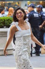 VANESSA HUDGENS Arrives at Fox News Studios in New York 06/21/2017