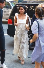 VANESSA HUDGENS Arrives at H&M Store in Times Square in New York 06/21/2017
