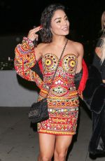 VANESSA HUDGENS Leaves Moschino Party in Hollywood 06/08/2017