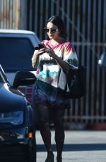 VANESSA HUDGENS Leaves Urban Outfitters in Los Angeles 06/09/2017