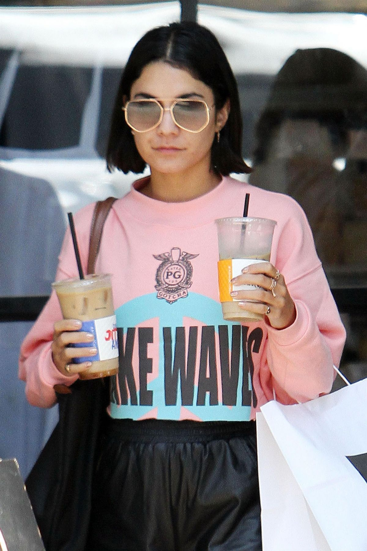 VANESSA HUDGENS Out for Lunch in Studio City 06/29/2017