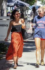 VANESSA HUDGENS Out Shopping in West Hollywood 06/27/2017