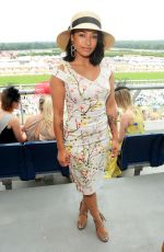 VANESSA WHITE at Royal Ascot Races in Berkshire 06/22/2017