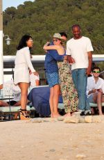 VANESSA WHITE Out at a Beach in Ibiza 06/09/2017