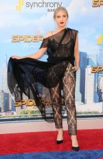 VERONICA DUNNE at Spiderman: Homecoming Premiere in Los Angeles 06/28/2017