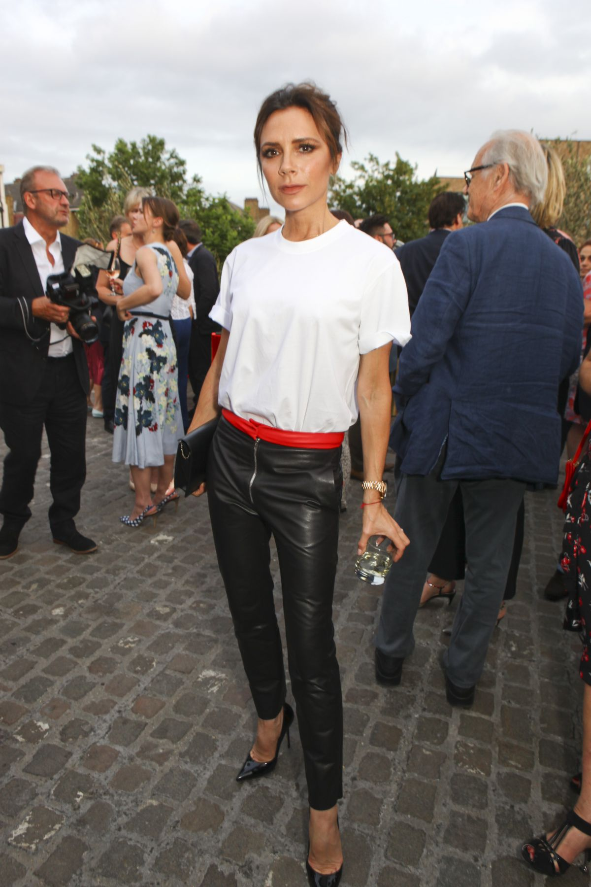 VICTORIA BECKHAM at Alexandra Shulman Vogue Leaving Party in London 06/22/2017