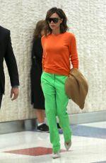 VICTORIA BECKHAM at JFK Airport in New York 06/05/2017