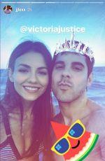 VICTORIA JUSTICE in Bikini, 06/25/2017 Instagram Pictures