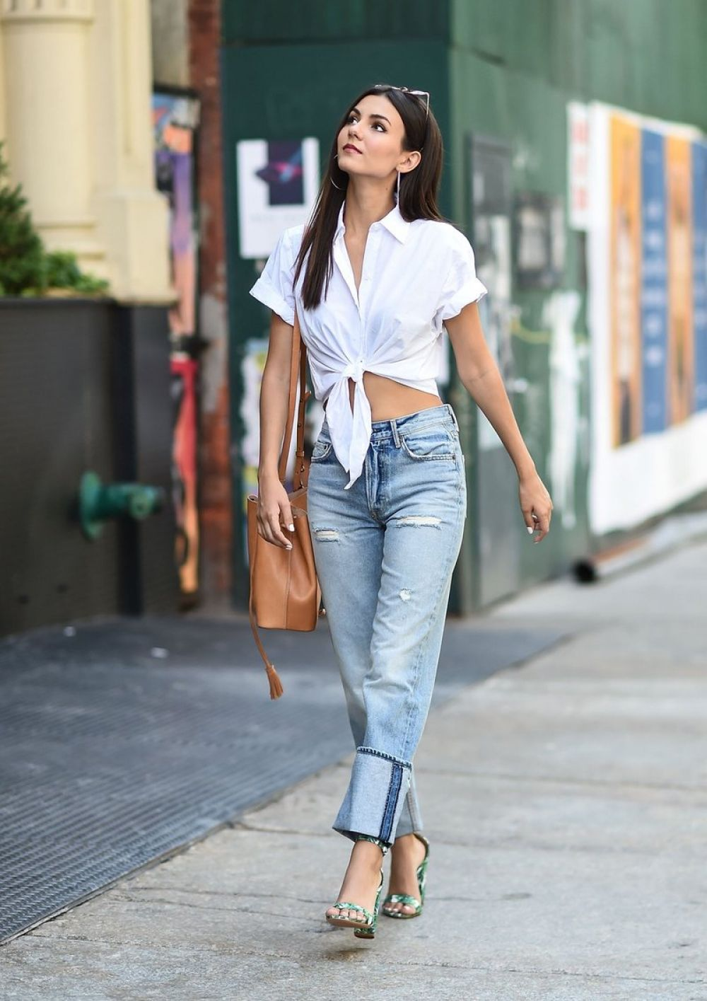 VICTORIA JUSTICE Out and About in New York 06/21/2017