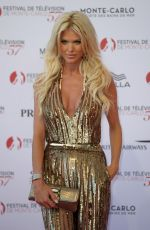 VICTORIA SILVSTEDT at 57th Monte-Carlo Television Festival Opening 06/16/2017