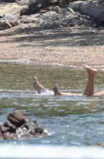 VICTORIA SWAROVSKI in Bikini at a Beach in Sardinia 06/24/2017