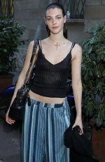 VITTORIA CERETTI Leaves Versace Fashion Show in Milan 06/17/2017