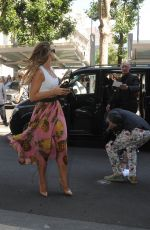 VOGUE WILLIAMS Arrives at Dolce and Gabbana Fashion Show in Milan 06/17/2017