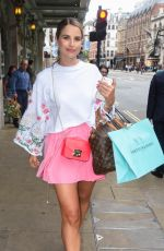 VOGUE WILLIAMS Out Shopping in London 06/27/2017