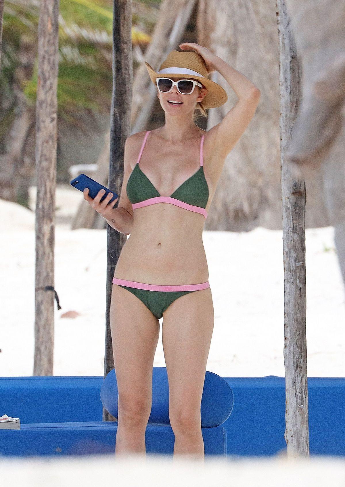 WHITNEY CUMMINGS in Bikini at a Beach in Mexico 06/12/2017 ...